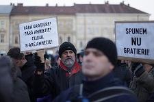 Protestul de la Cluj la care au participat peste 5.000 de oameni s-a încheiat fără incidente