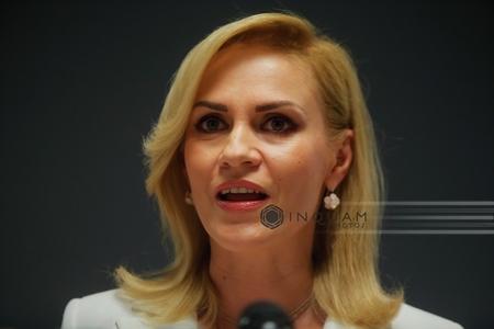 Primarul Capitalei, Gabriela Firea, la Parchetul Judecătoriei Sectorului 1 într-un dosar privind o autorizaţie emisă în luna mai de fostul edil