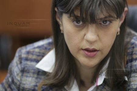 Laura Codruţa Kovesi, la Curtea de Apel Ploieşti unde are loc procesul pe care l-a intentat postului Antena 3