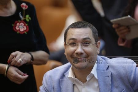 """Ponta: Toamna are loc """"festivalul"""" protestelor; în 2015 ne-au spus cine să nu guverneze, în 2016 cine să nu fie senator"""