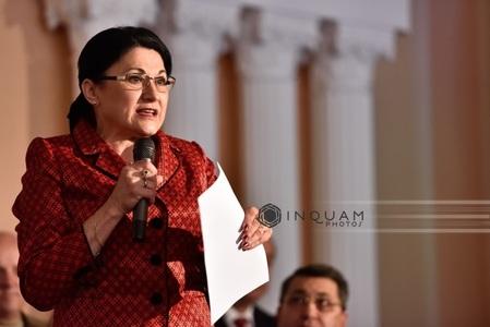 Ecaterina Andronescu spune că Ponta nu a respectat regulile de citare a sursei în teza sa de doctorat
