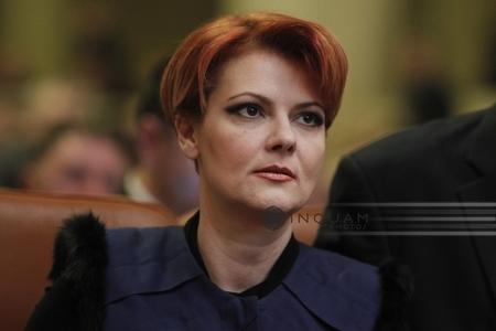 """Olguţa Vasilescu, avizată de comisii pentru funcţia de ministru al Muncii: """"Nu e vina noastră că am fost audiaţi pe repede înainte"""""""