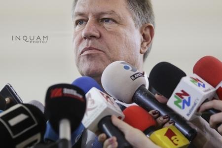 Iohannis, despre înregistrările lui Băsescu: Le-a auzit cineva? Dacă le are, să le dea procurorilor