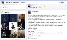 """Vicepreşedintele ALDE Cătălin Beciu a şters postarea în care califica drept """"naziste"""" protestele faţă de ordonanţele privind justiţia"""