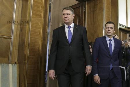 Iohannis îi cheamă pe premierul Grindeanu şi pe ministrul Finanţelor la o discuţie despre buget