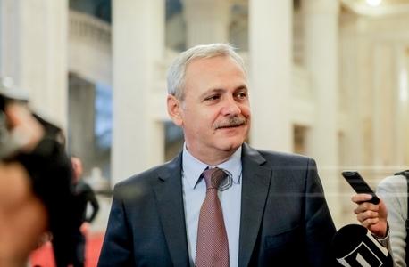 """Liviu Dragnea: Comitetul Executiv a adoptat o rezoluţie pentru susţinerea """"necondiţionată"""" a mea la conducerea PSD"""