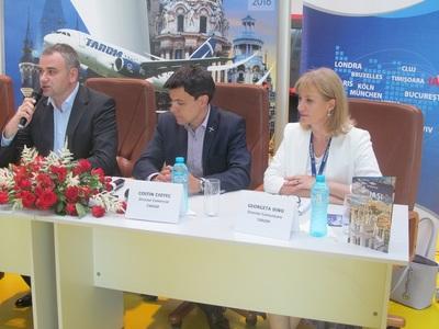 Director Tarom: Compania aeriană are ca ţintă un trafic de 250.000 de pasageri pe aeroportul din Iaşi în acest an