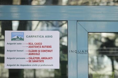 ASF: Carpatica are 1,3 milioane de poliţe de asigurare active, Fondul de Garantare va plăti cel mult 624 milioane lei