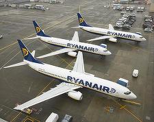 Ryanair vinde bilete de avion de 5 euro pe rute selectate din Bucureşti şi Timişoara, pentru călătorii în perioada septembrie-noiembrie 2016