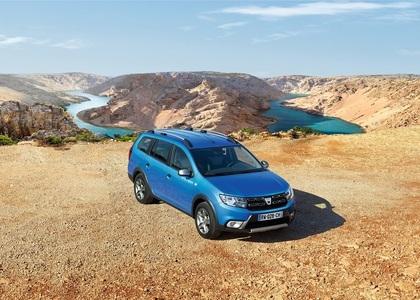 Dacia participă la Salonul Auto de la Geneva cu Logan MCV Stepway şi cu o nouă serie limitată a modelelor Stepway şi Duster - FOTO