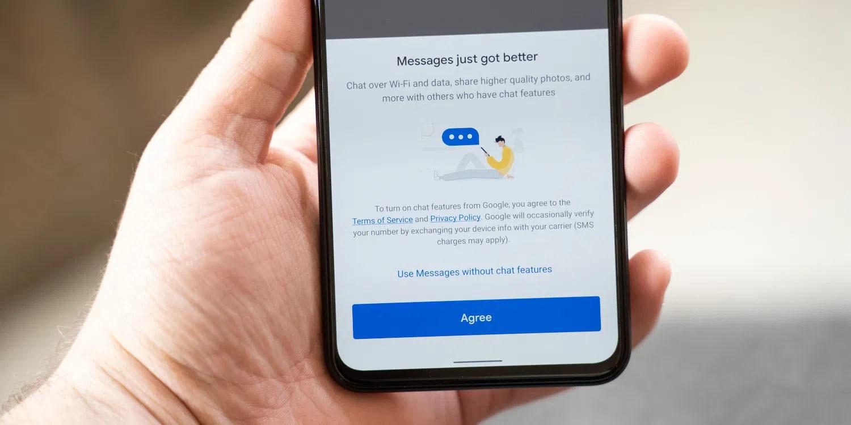 Google va cripta comunicările făcute cu Messages