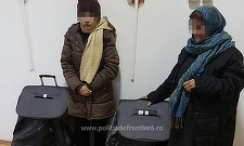 Arad: Două femei afgane au fost descoperite, la graniţă, ascunse în geamantane, într-un tren internaţional - FOTO/ VIDEO