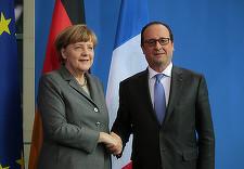 Iohannis se întâlneşte în septembrie cu Angela Merkel şi Francois Hollande