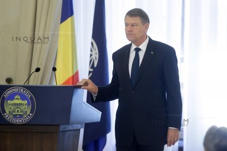 Iohannis îi primeşte miercuri pe ambasadorii străini din România şi va prezenta direcţiile politicii externe pe 2017