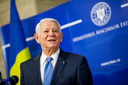 Meleşcanu participă la Conferinţa pentru securitate de la München, unde a discutat cu ministrul francez de Externe