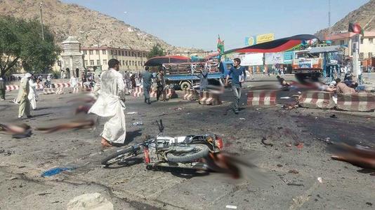 Zeci de morţi şi peste 200 de răniţi la Kabul, într-un atac revendicat de Statul Islamic