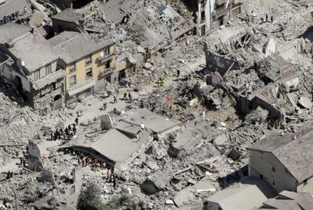 O nouă replică seismică, având magnitudinea 4,7, s-a produs în centrul Italiei