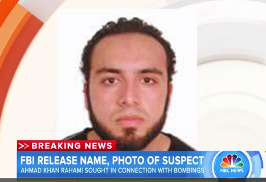 Atentate în SUA: Suspectul Ahmad Khan Rahami a fost inculpat de procurorii americani pentru folosirea unei arme de distrugere în masă