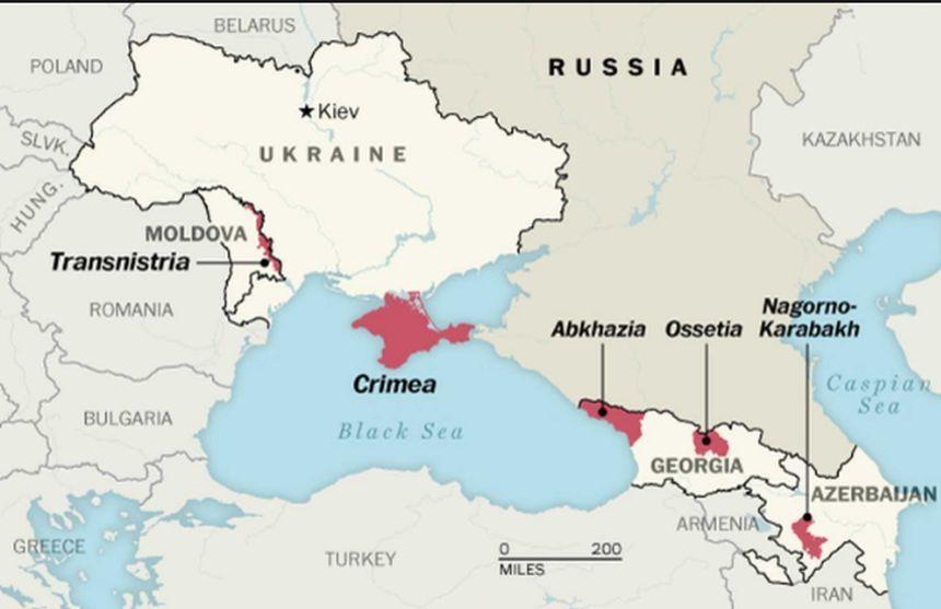 Sute de militari ruşi efectuează noi exerciţii în Transnistria, anunţă separatiştii