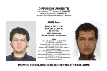 El Mundo: Un şofer român susţine că l-a întâlnit pe Anis Amri în Franţa, cu 28 de ore înainte ca acesta să fie ucis