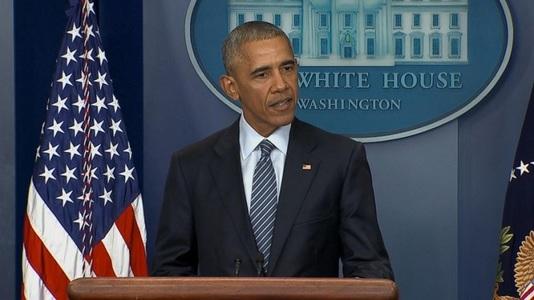 """Barack Obama avertizează că statu-quoul impus de israelieni creează o """"situaţie oribilă"""" pentru palestinieni şi pentru securitatea regională, în timp ce erodează soluţia celor două state"""