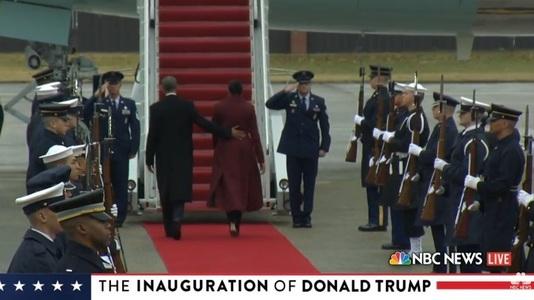 Barack Obama le mulţumeşte americanilor care s-au unit pentru a schimba naţiunea, înainte de a pleca spre Palm Springs - VIDEO
