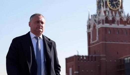 Dodon vrea ca viitorul Transnistriei să fie stabilit printr-un referendum naţional