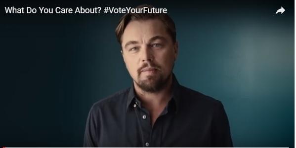 Leonardo DiCaprio şi Julia Roberts, printre vedetele de la Hollywood care îi îndeamnă pe americani să meargă la vot. VIDEO