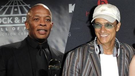 Rapperul Dr. Dre şi producătorul muzical Jimmy Iovine, protagonişti ai unui serial documentar produs de HBO