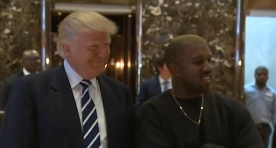 Rapperul Kanye West s-a întâlnit cu Donald Trump la New York