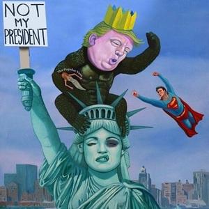 Madonna a distribuit pe reţelele de socializare o imagine în care Donald Trump este prezentat sub forma personajului King Kong; Fotografia a devenit virală
