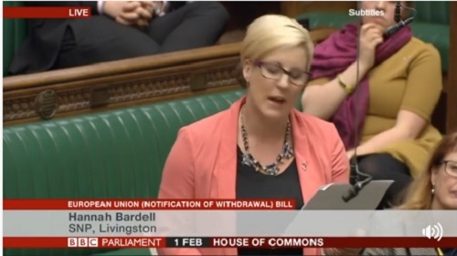 """O parlamentară anti-Brexit a imitat celebrul monolog din filmul """"Trainspotting"""" într-un discurs în Parlamentul britanic"""