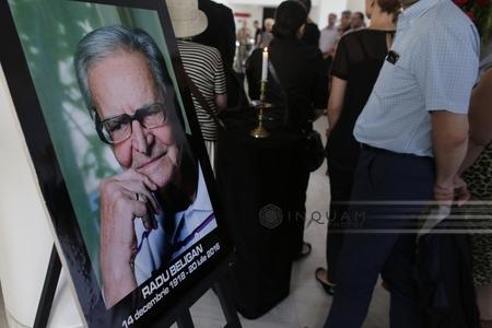 """Radu Beligan a fost înmormântat cu onoruri militare la cimitirul Bellu: """"Somn uşor, maestre!"""""""