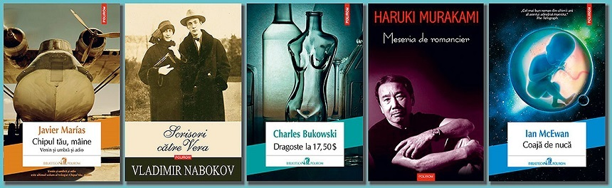 Gaudeamus 2016: Seriile de autor Haruki Murakami şi Vladimir Nabokov, o antologie de Charles Bukowski şi titluri noi