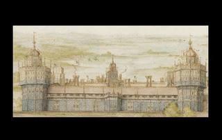 Victoria and Albert Museum a cumpărat cu un milion de lire sterline prima pictură care prezintă un castel englez demolat de o curtezană