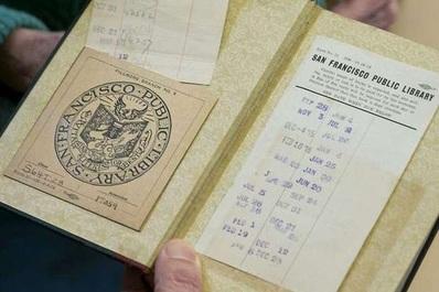 O carte a fost restituită bibliotecii publice din San Francisco după 100 de ani