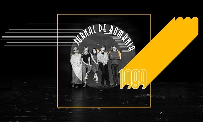 """""""Jurnal de România. 1989"""", prima premieră a Teatrului Naţional Bucureşti în perioada pandemiei – VIDEO"""