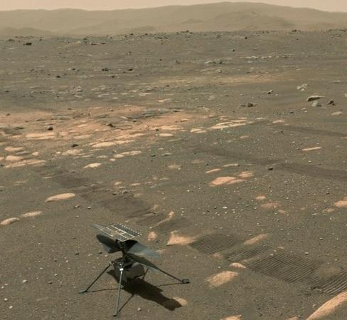 Sunetul elicopterului Ingenuity, aflat pe Marte, înregistrat pentru prima dată – VIDEO