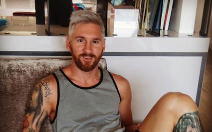 Lionel Messi şi-a schimbat look-ul şi şi-a vopsit părul blond