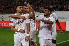 CFR Cluj a învins în prima etapă Concordia Chiajna, scor 2-0; golurile s-au marcat într-un interval de două minute