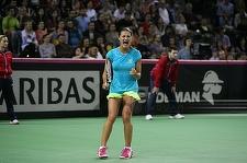 Simona Halep şi Monica Niculescu s-au calificat în semifinale la dublu, la turneul de la Montreal