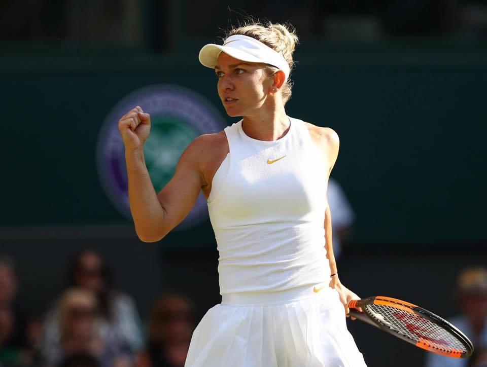 Halep în ţinuta pe care ar fi purtat-o la Wimbledon: Astăzi ar fi fost finala feminină. Abia aştept să îmi apăr trofeul în 2021 – FOTO