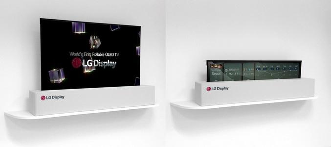 LG va lansa un televizor ce se poate rula