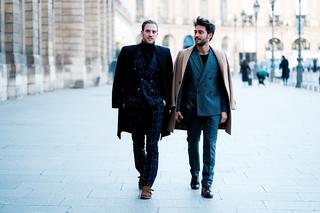 Inspiraţie la masculin: Men's Fashion Week Street Style