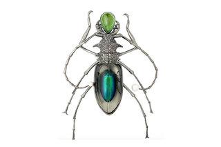 Broşe în formă de insecte într-o colecţie numită Insectmania
