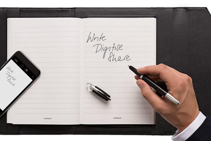 Cadoul perfect: stiloul digital şi notepad-ul Montblac Augmented Paper
