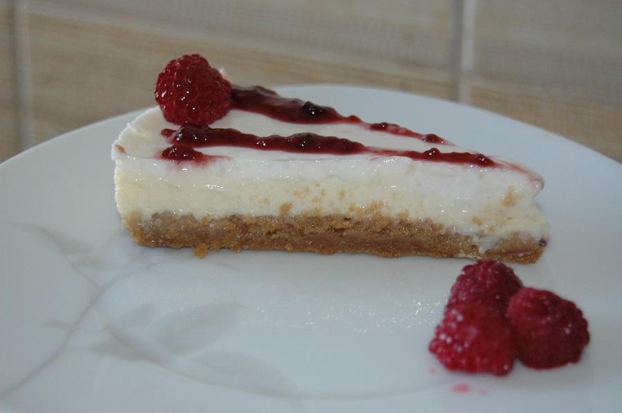cheesecake zmeura