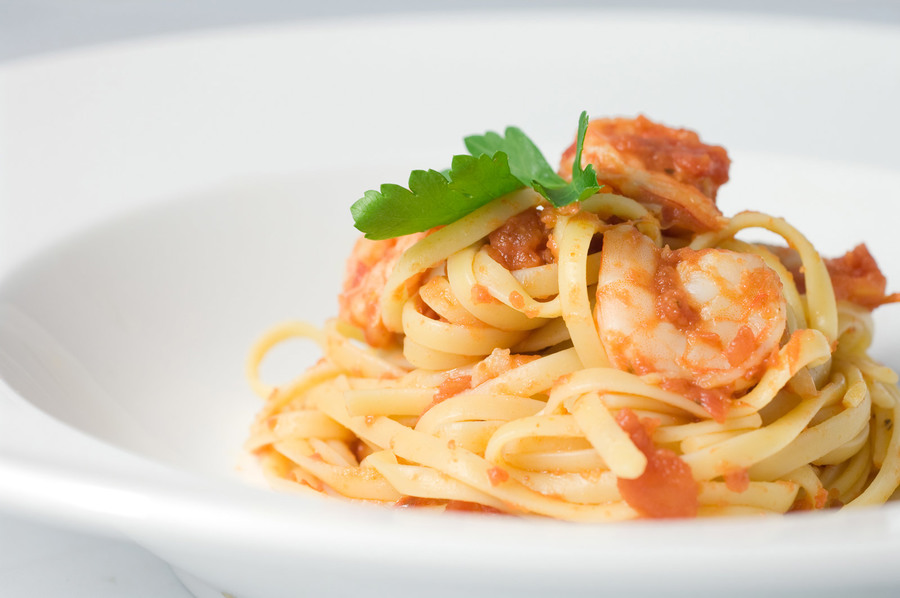 spicy-prawn-and-tomato-pasta-pasta-fest-at-trident-bandra-kurla