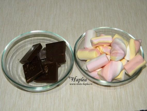 ciocolata, bezele
