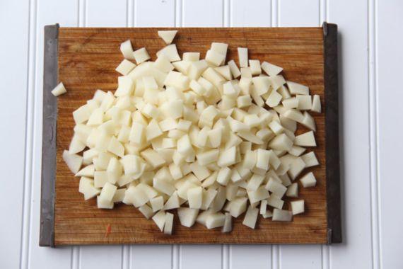 Ciorba de perisoare cu orez pasul1